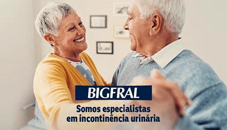 Mais um job na rua. Hoje colocamos no ar o novo site de Bigfral, a marca parceira em incontingência urinária e acolhimento.